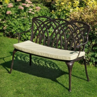 April Bench Cushion - Stone