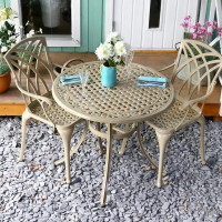 Hannah Table - Sandstone (2 seater set)