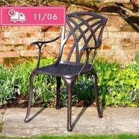 April Chair - Antique Bronze