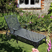 Rose Lounger - Slate