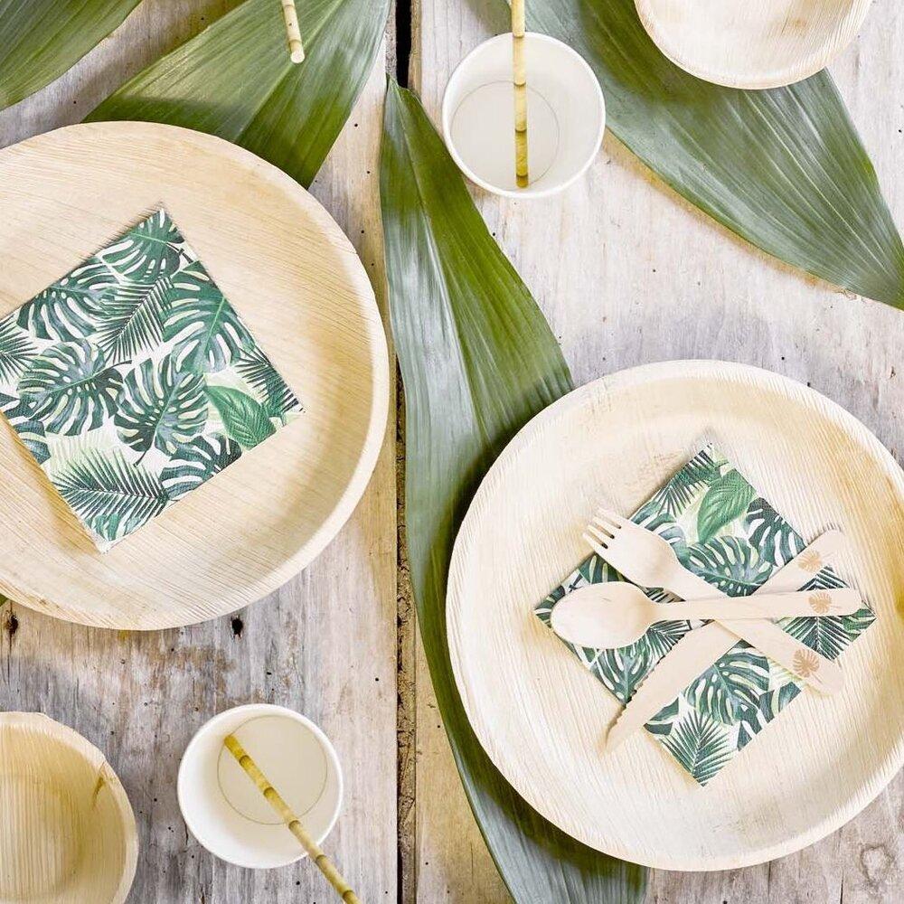 Bunting & Barrow Palm Garden Party Tableware