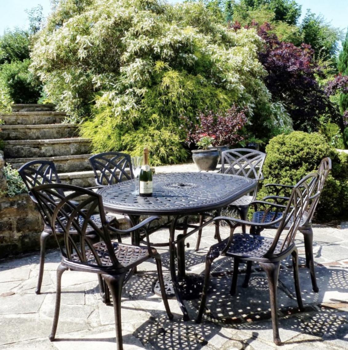 Lazy Susan Garden Tables