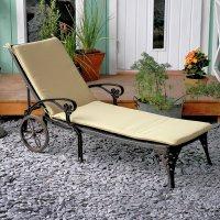 Lattice Lounger Cushion - Stone