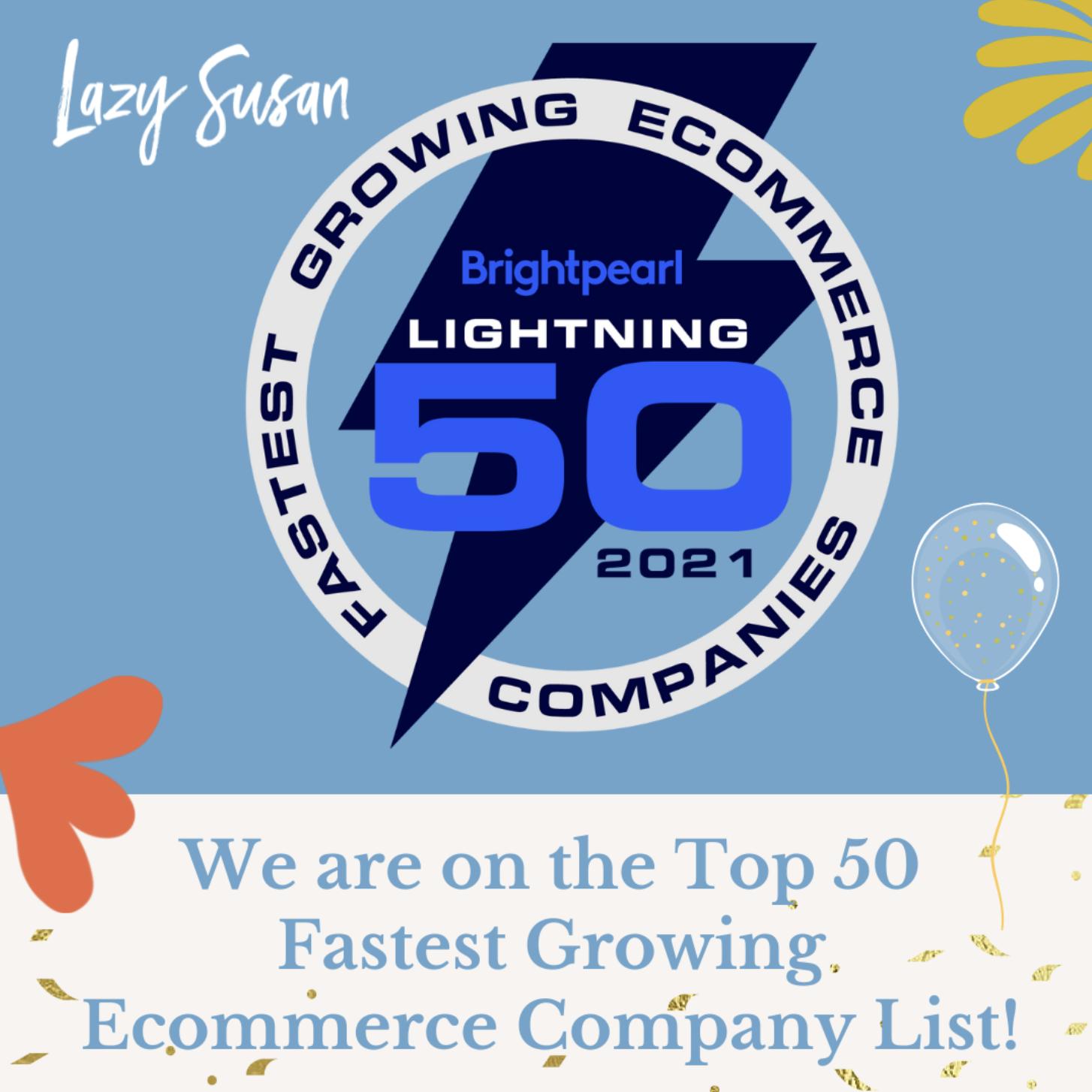 Lightning 50-Fastest Growing eCcommerce Companies