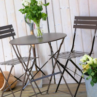 Alessia Bistro Set - Ash Brown (2 seater set)