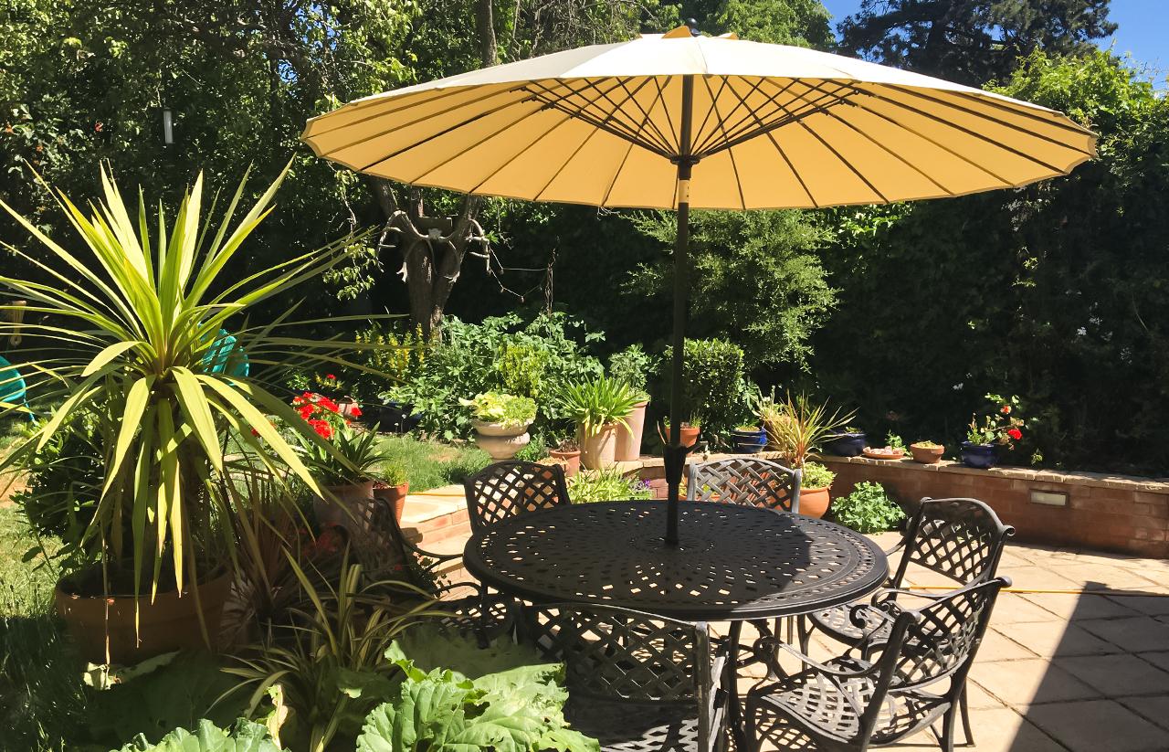 Lazy Susan Garden Parasol