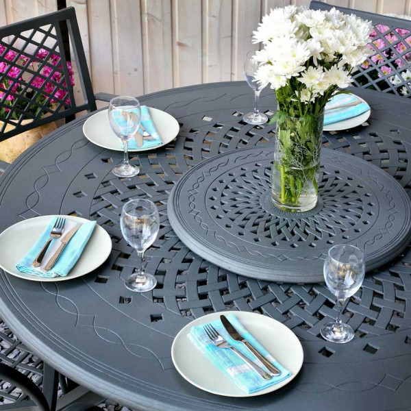 Amelia Table - Slate (8 seater)