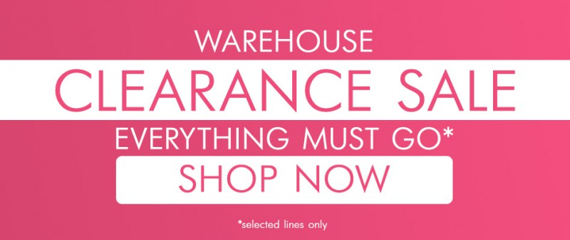 Warehouse Clearance Sale - Everything must go*