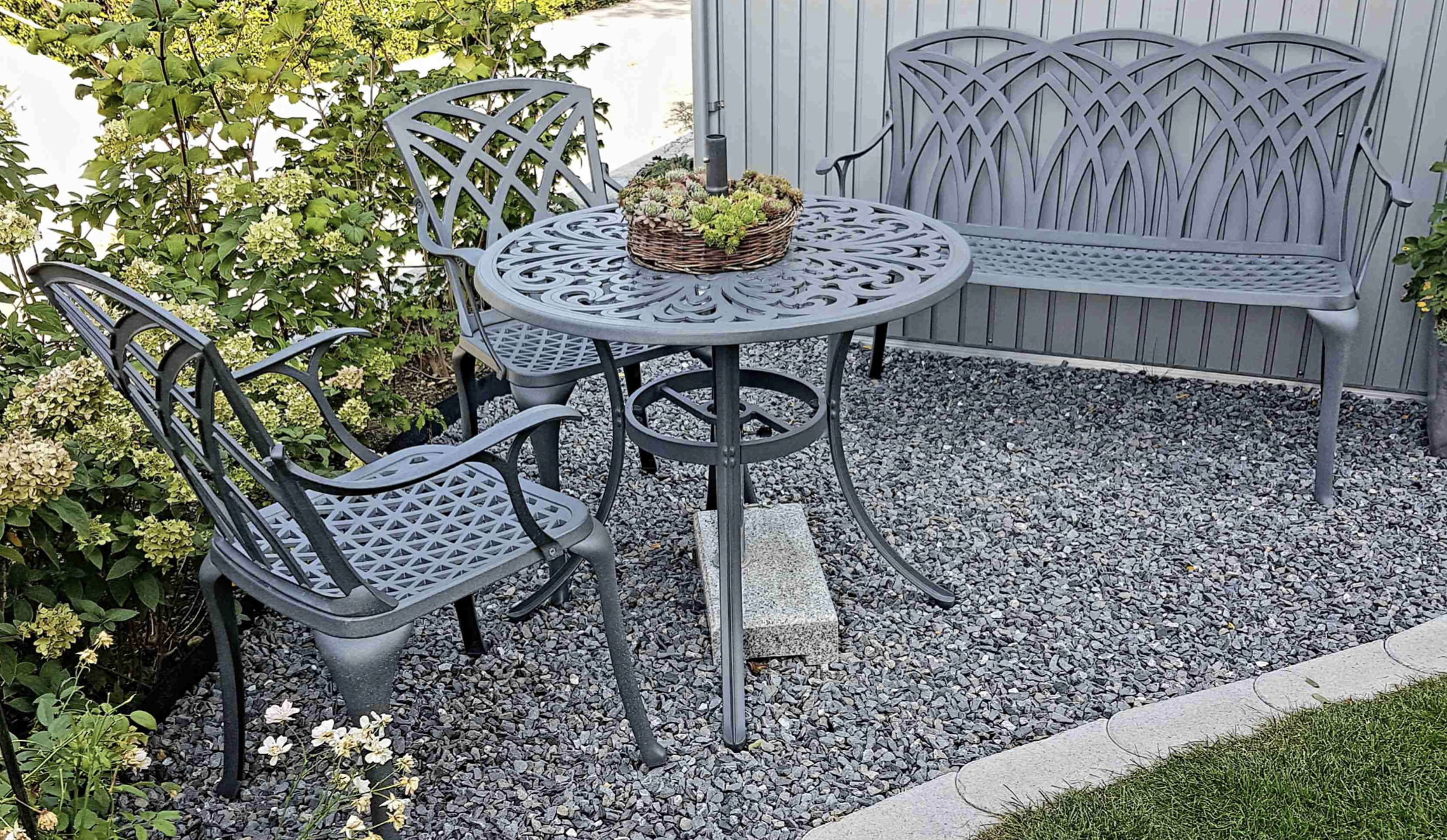 Complimenting Our Smaller Garden Furniture Sets
