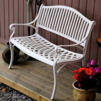 Grace Bench - White