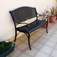 July Bench - Antique Bronze