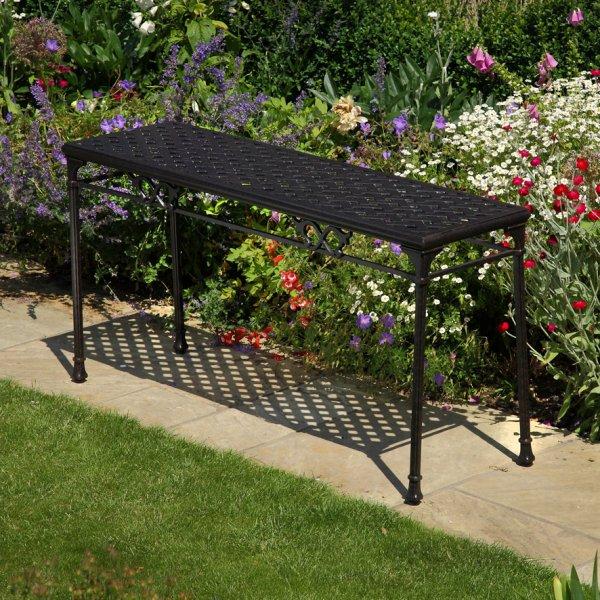 Rectangular_Cast_Aluminium_Metal_Garden_Furniture_Console_Side_Table_1