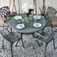 Amy Table - Slate (4 seater set)