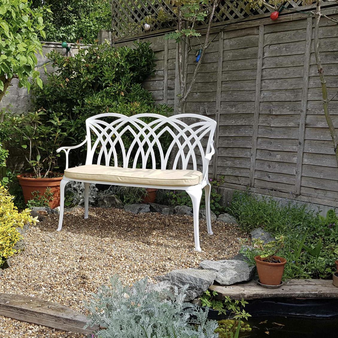 April Garden Bench