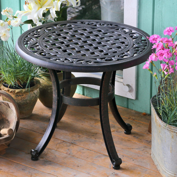 Ava Table - Antique Bronze