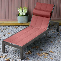 Michelle Lounger - Antique Bronze & Terracotta