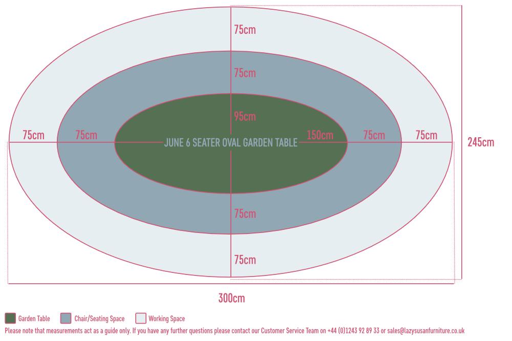 Garden Table Floor Plan