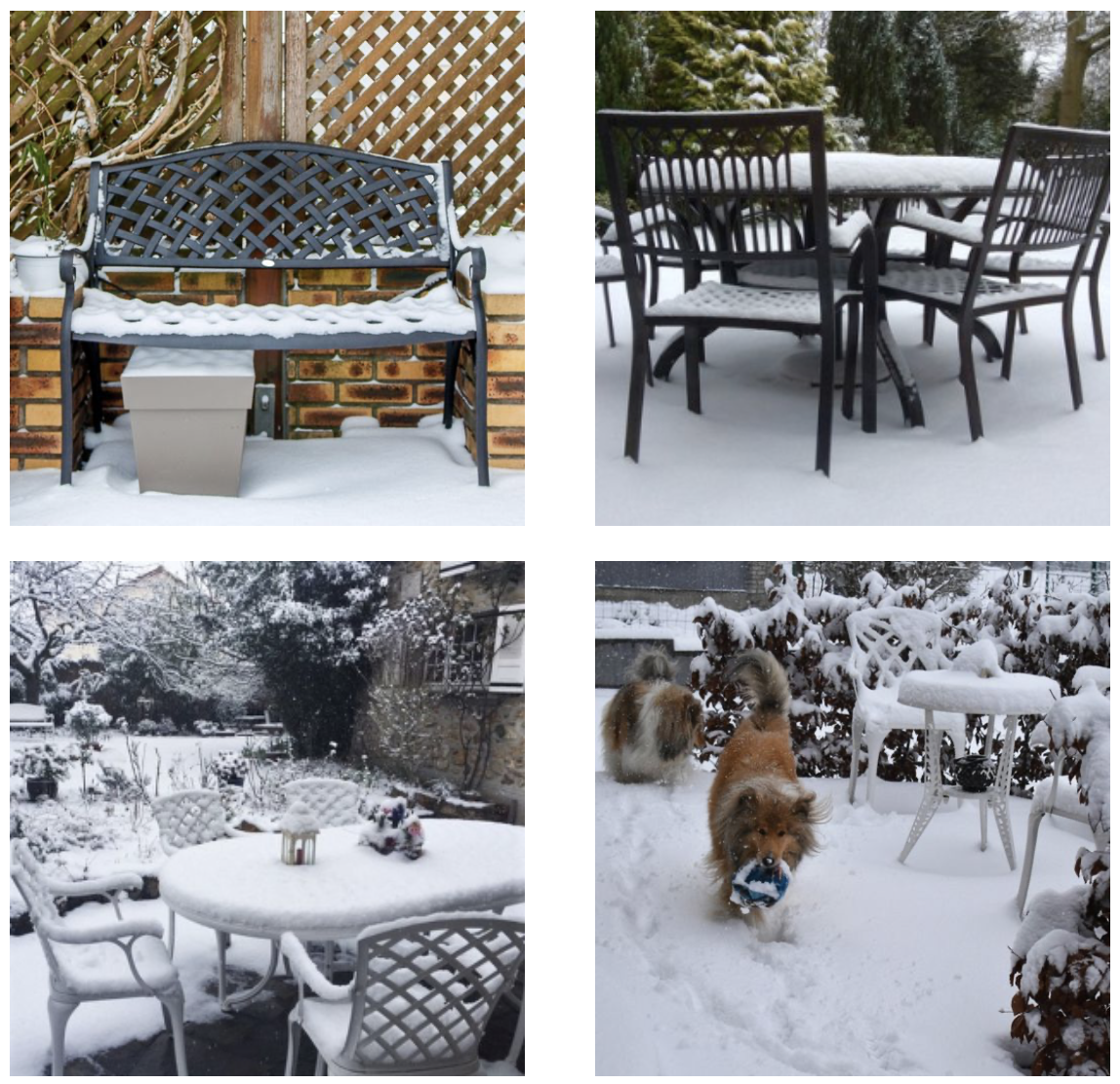 Lazy Susan Winter Customer Photo Gallery