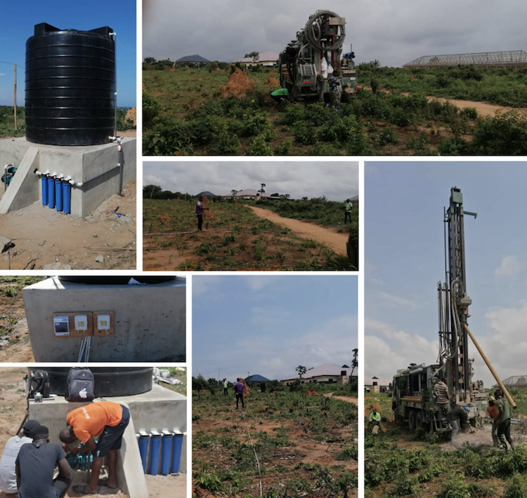 AATC Water Project Becky's Ghana