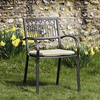 Seat Pad Cushion - Stone