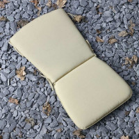 Curve Back Cushion - Stone