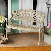 Rose Bench - Sandstone