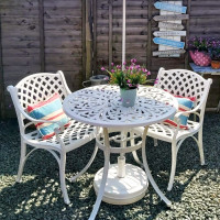 Jill Table - White (2 seater set)