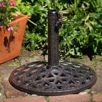 Parasol Base - Antique Bronze
