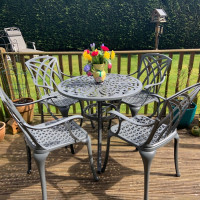 Jill Table - Slate (4 seater set)