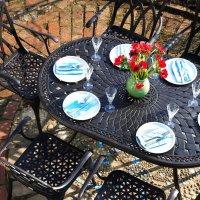 June Table - Antique Bronze (4 seater set)