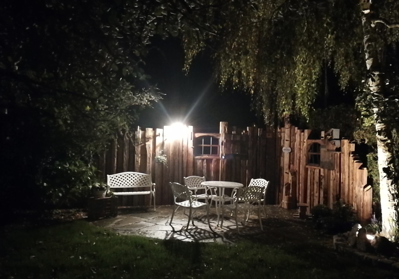 Bringing a patio to life with Garden Lighting