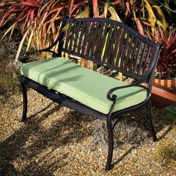 Green_Lattice_Bench_Cushion_1