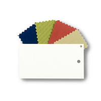 Classic Metal & Fabric Sample Pack (White)
