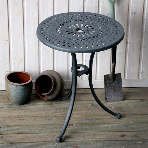 Eve Slate Aluminium Bistro Table