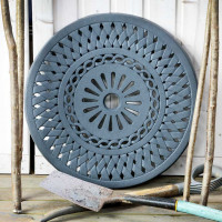 Lazy Susan Lattice 60cm - Slate