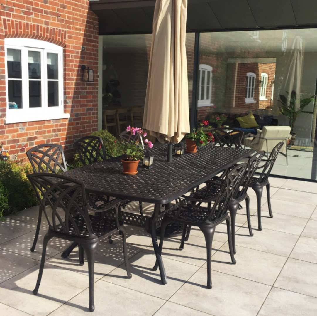 Madison 8 Seater Garden Table