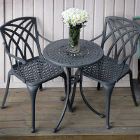Eve Bistro Table - Slate (2 seater set)