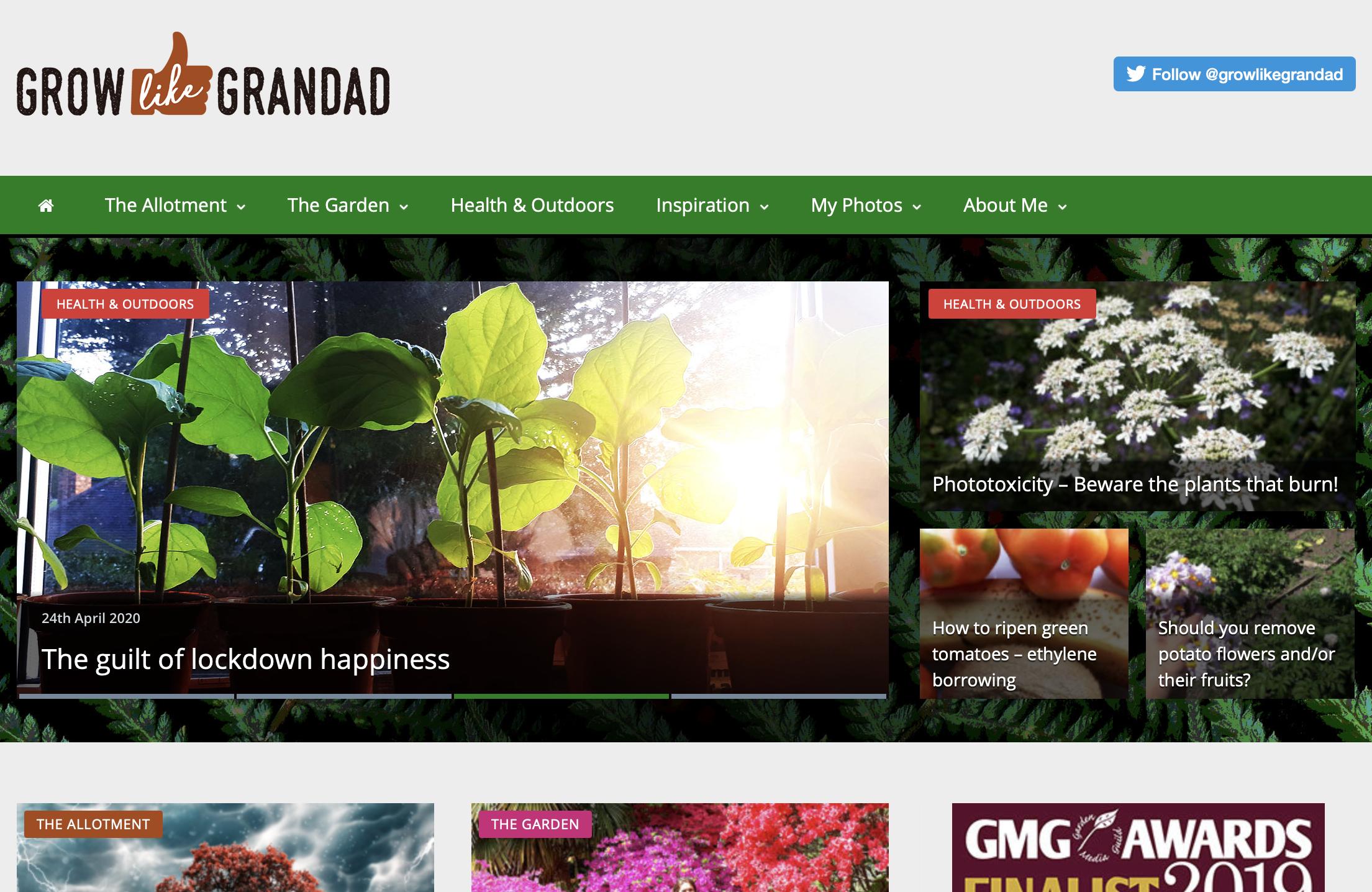 Grow Like Grandad Blog