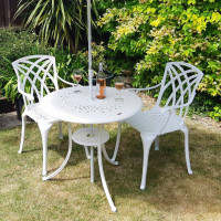 Anna Table - White (2 seater set)