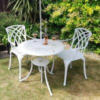 Anna Table - White (2 seater set)