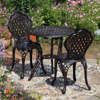 Ivy Bistro Set - Antique Bronze (2 seater set)