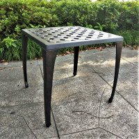 Willow Table - Antique Bronze