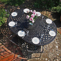 Rosemary Table - Antique Bronze (10 seater set)