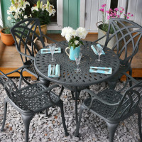 Mia Table - Slate (4 seater set)
