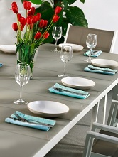 Sample_Modern_White_Champagne_Large_Automatic_6_Seater_Extension_Dining_Table_Set_Metal_Glass_Top_Garden_Furniture