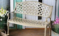 bench garden furniture daily deal