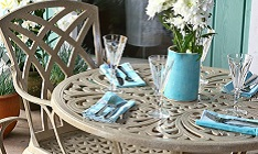 Feature clearance 4 seater garden furniture