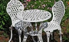 bistro metal furniture daily deal