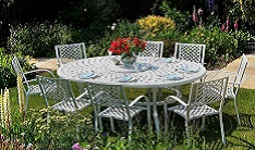 Feature clearance 8+ seater garden furniture