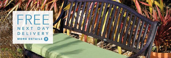 Lazy Susan Garden benches